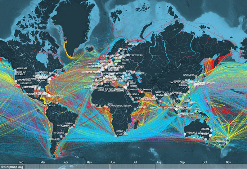 """The """"Skyscanner"""" of maritime transport : A search engine for shipping schedules"""